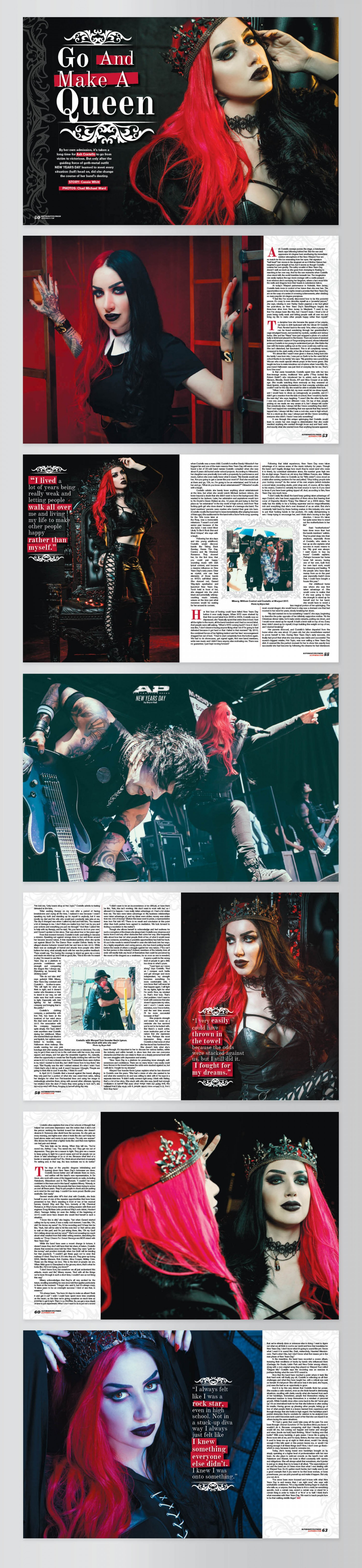 Ash Costello Cover Story