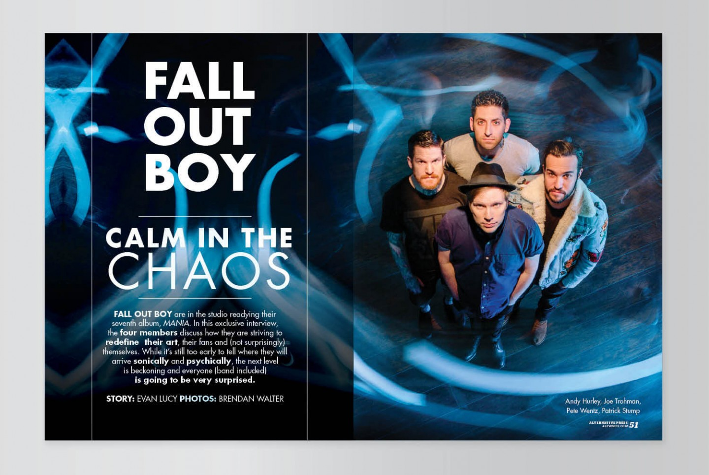 Fall Out Boy Cover Story