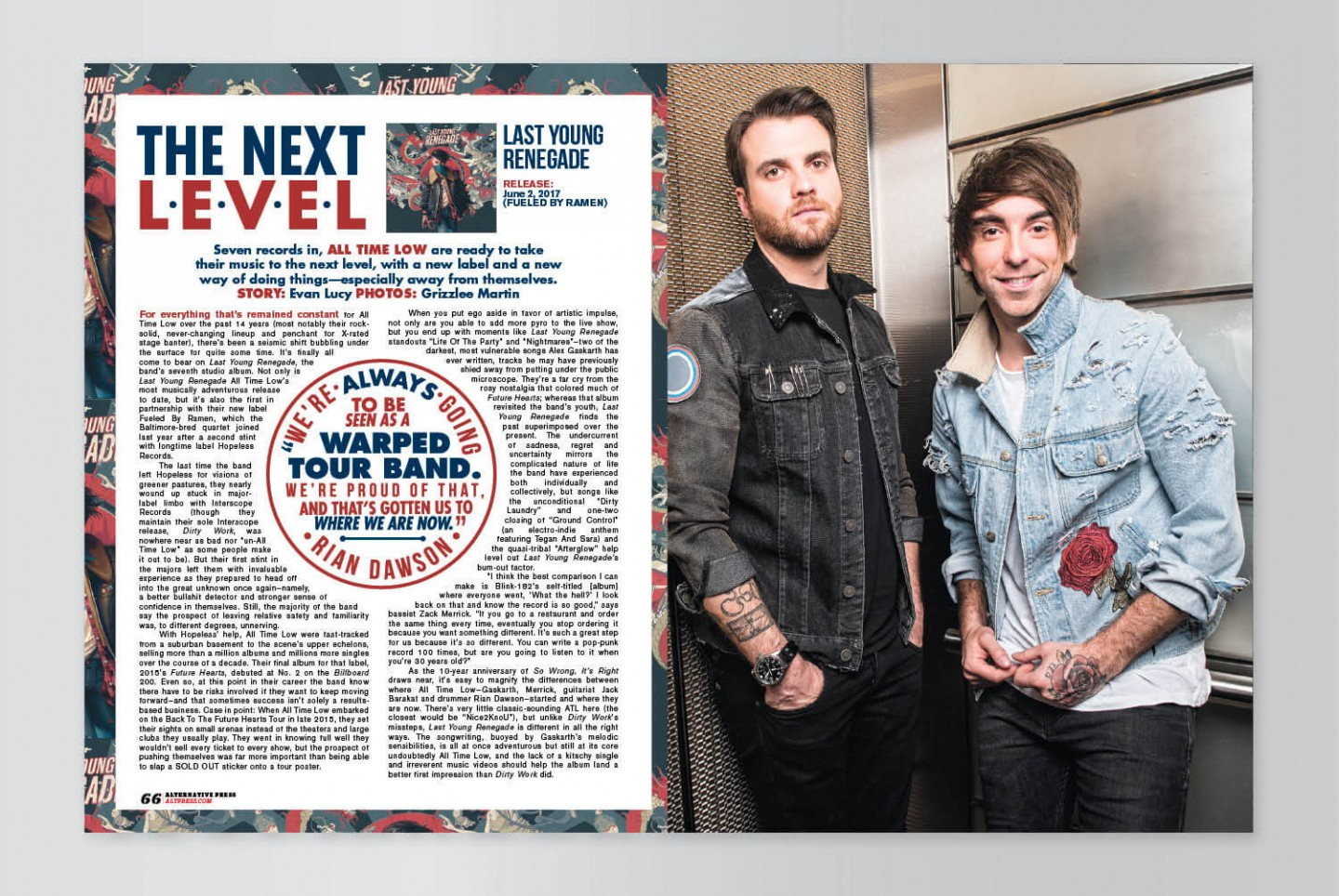 All Time Low Cover Story